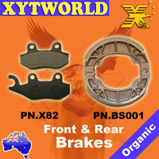FRONT REAR Brake Pads Shoes for HONDA Astrea Supra NF 100 1999