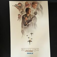 Star Wars Rogue One IMAX Cinema Poster Limited Edition Original Sale K-2SO