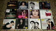 Anna Netrebko - Lot of 12 Opera / Recital CDs