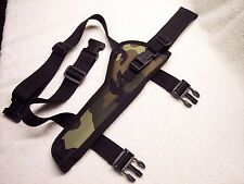 "CAMO RIGHT HAND Draw Drop Leg THIGH Holster RUGER BLACKHAWK 7-1/2"" Barrel ...USA"