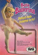 X4280 GIG nel paese delle meraviglie - Bella Ballerina - Pubblicità 1994 - Adv.