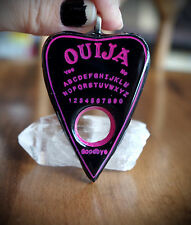Pink and Blk Planchette Ouija Necklace Grunge/Emo/Occult/Goth/Alt/Lolita/Pastel