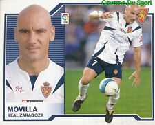 MOVILLA ESPANA REAL ZARAGOZA STICKER LIGA ESTE 2008 PANINI