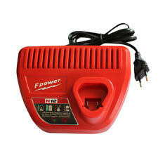 230V Charger For Milwaukee 12V Li-ion M12 12 Volt 48-11-2401 48-11-2402 EU plug
