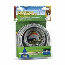 Heavy Duty Dog Runner Trolley System 100 Ft Exerciser Pet Supplies Yard Home New