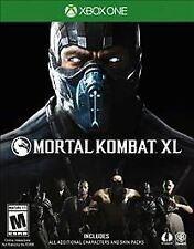 Mortal Kombat XL (Microsoft Xbox One, 2016)------