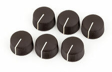 Fender Dark Brown Vintage Amp Knobs (set of 6) 0990934000