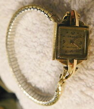 Vintage Gruen Precision 14K Gold Ladies Swiss Switzerland Cocktail wrist Watch