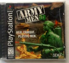 Army Men 3D (Sony PlayStation 1, 1999) Includes Case and Manual!
