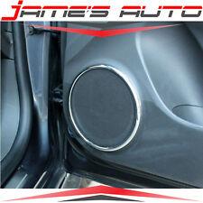 Chrome Speaker Trim Ring Set for Chevy Chevrolet Cruze 08 - 14 cv52