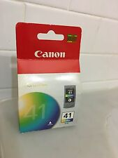 New Genuine Canon 41 Color Ink Cartridge CL-41