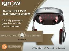 iGrow Laser Hands Free LED Light Therapy Hair Growth Rejuvenation Recertified