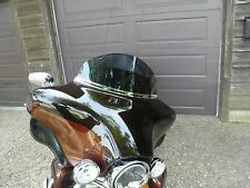 "Harley 10"" Dark Tint Windshield Touring Electra Glide Ultra Classic  96-13"
