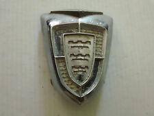 Vintage 1956 Chrysler Metat Emblem Hood Ornament Sign Badge Nameplate Trim