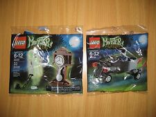 LEGO Monster Fighters 30200 30201 Zombie Chauffeur Coffin Car & Ghost