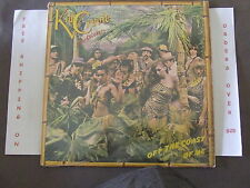 KID CREOLE & THE COCONUTS, OFF THE COAST OF ME LP, IN SHRINK WITH LYRIC SLEEVE