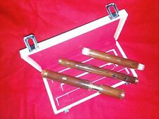 """IRISH  FLUTE IN """" D """" 4-PARTS  TUNEABLE   ROSEWOOD"""