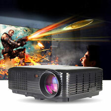 New 3500 Lumens LED Projector Home Theater USB TV 3D HD 1080P Business VGA/HDMI