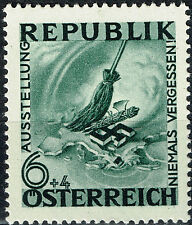 Austria Germany WW2 1945 Nazi Occupation End stamp MNH