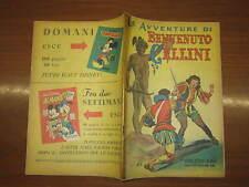 WALT DISNEY ALBO D'ORO N°166 LE AVVENTURE DI BENVENUTO CELLINI  16-7-1949