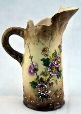"Antique Ernst Wahliss Turn Wien Porcelain Vase, signed on bottom of vase, 6""tall"