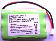 MOTOROLA MBP33 BABY MONITOR COMPATIBLE RECHARGEABLE BATTERY 3.6V