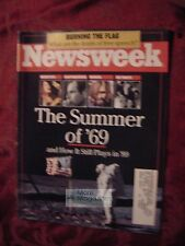 NEWSWEEK July 3 1989 7/3/89 The Summer of '69 Flag Burning China Protests