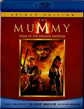 USED BLU-RAY //  THE MUMMY TOMB OF THE DRAGON EMPEROR //Brendan Fraser, Jet Li,
