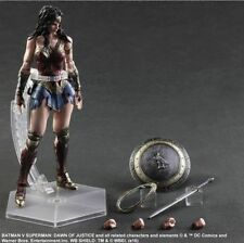 Play Arts Kai Batman vs Superman Wonder Woman Action Figure Statue Model PVC NEW