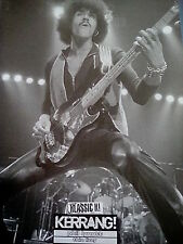 Thin Lizzy Phil Lynott or Slayer Classic B&W Pictures 28x20cm