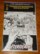 TRANSFORMERS GENERATIONS 7 IDW COMIC AFTERDEATH VARIANT