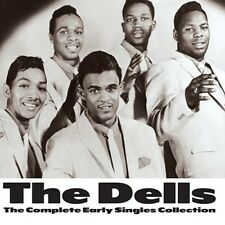CD THE DELLS COMPLETE EARLY SINGLES COLLECTION OH WHAT A NITE BOSSA NOVA BIRD