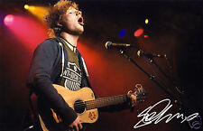 ED SHEERAN AUTOGRAPH SIGNED PP PHOTO POSTER