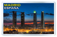 MADRID SPAIN MOD3 FRIDGE MAGNET SOUVENIR IMAN NEVERA