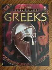 GREEKS USBORNE INTERNET-LINKED 2004 Every Page Packed with Colorful Pictures