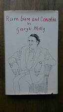 George Melly – Rum, Bum and Concertina (1st /1st UK 1977 hb w dw) SIGNED Hockney