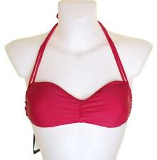 "Bnwt Women's Oakley Plastic Top Bikini Top Swim Wear Small 34""-35""  New Lava"