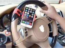 AUTO ACCESSORIES Clip Car Steering Wheel Bike Handlebar Holder For Lexus Audi