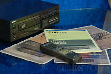 ►SONY CDP 101◄ LETTORE CD PLAYER CON TELECOMANDO RM 101 MANUALE VINTAGE 1982