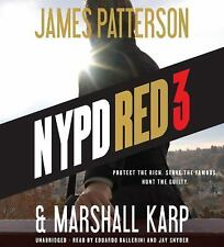 NYPD Red 3 by James Patterson and Marshall Karp (2016, CD)