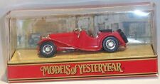 KKar Matchbox  Y-01G Jaguar SS 100 - Red