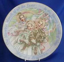 WEDGWOOD MAY DAY COLLECTOR PLATE - 1998