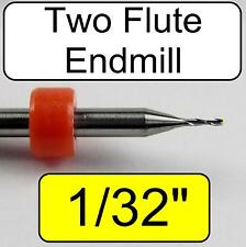 """1/32"""" Carbide Endmill - Two Flute  Made in USA - CNC Engraving  1600.0315.197A1"""