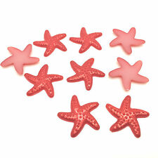 NEW Hot 50pcs Resin starfish 19MM Flat back Scrapbooking For craft making Red#2