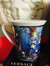 VERSACE GOLD GREEK KEY  MUG CUP  VALENTINES GIFT LIMITED NEW SALE