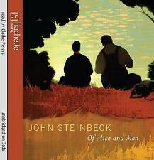 Of Mice and Men by John Steinbeck-3CD Unabridged Audio-mint condition