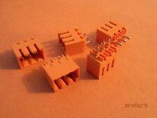 WEIDMULLER SL3.5/3/180G 3 WAY FIXED PCB  PLUG  QTY= 5