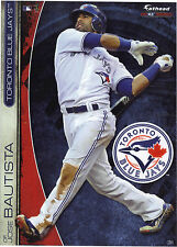 JOSE BAUTISTA TORONTO BLUE JAYS FATHEAD TRADEABLES 2013 REMOVABLE STICKER #31