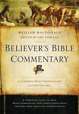 BELIEVER'S BIBLE COMMENTARY - NEW HARDCOVER BOOK