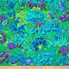KAFFE FASSETT Fabric Fat Quarter Cotton FLORAL Peony LAVINA